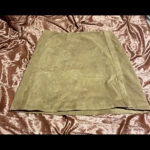 Guess Suede Mini Skirt